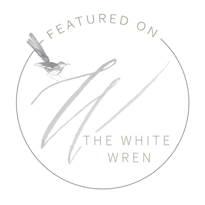 Featured on The White Wren Badge